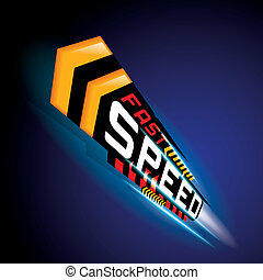 FAST SPEED CONCEPT VECTOR - THE ABSTRACT OF FAST SPEED ...