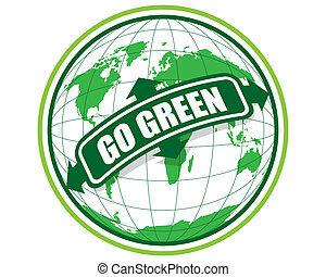 GO GREEN  - THE ABSTRACT OF GO GREEN
