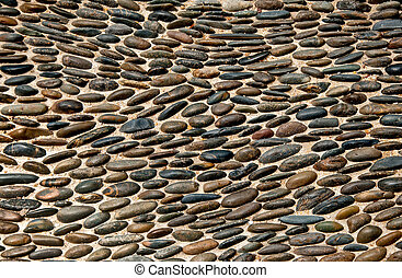 The Abstract of pebble texture background