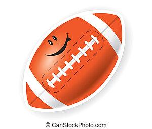 Smile sport American football
