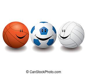 Smile sport balls