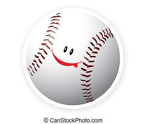 Smile sport baseball