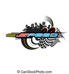 Speed Concept vector