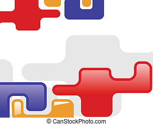 the abstract vector color background