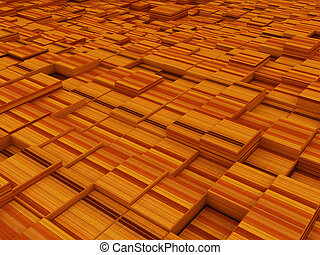 abstract wood urban background