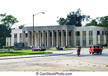 the Academia Nacional de Bellas Artes San Alejandro in Havana, Cuba