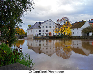 The Academy Mill in Uppsala, Sweden - The Academy Mill or...