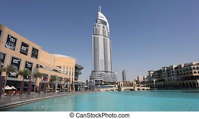The Address hotel at Dubai Mall, United Arab Emirates