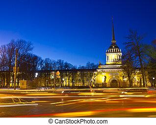 The Admiralty ,St. Petersburg ,Russ