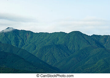 Aerial View of mountain beautiful