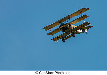 Fokker Dr-I (Reproduction) - The Aerodrome Air Show Team ...