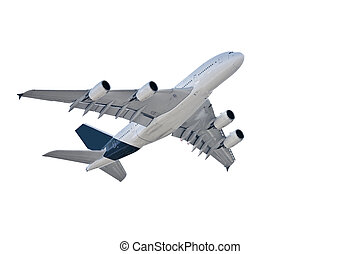 air liner - The air liner isolated on a white background