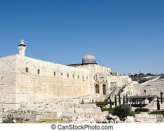The Al-Aqsa Mosque in Jerusalem