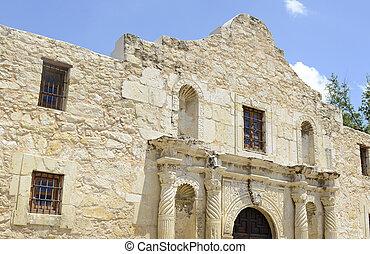 The Alamo in San Antonio Texas, USA