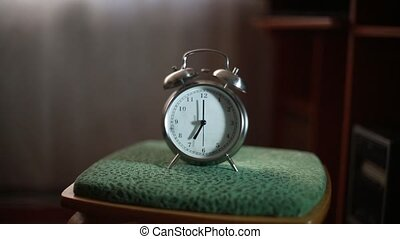 The alarm rings early in the morning HD