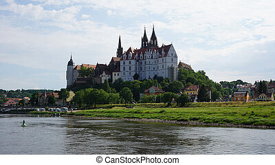 The Albrechtsburg in Saxony, Germany