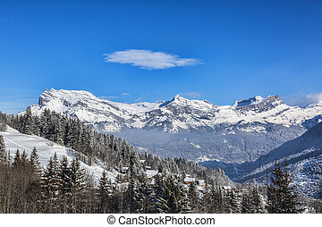 The Alps in Winter