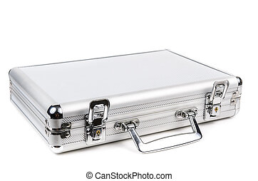 The aluminum carrying case