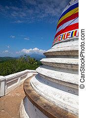 The Aluvihare Rock Temple in Aluvihare, Sri Lanka