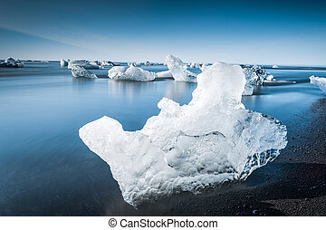 The amazing Jokulsarlon Glaciar Lagoon