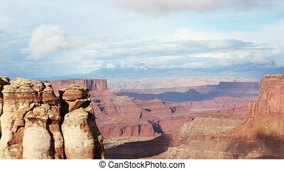 the amazing rock structures at canyonlands, utah, usa