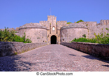 The Amboise Gate to ancient Rhodes