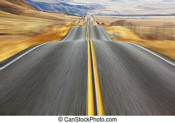 The American road and fencings