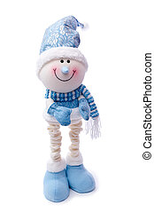 The amusing snowman - New hilarious funny snowman in the cap