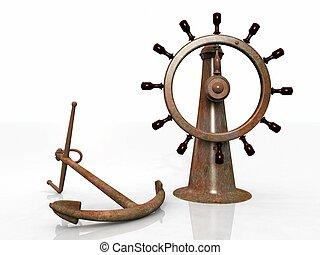 anchor and navigation bar - the anchor and navigation bar