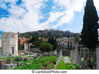 Athens and Acropolis - The Ancient Agora of Classical Athens...