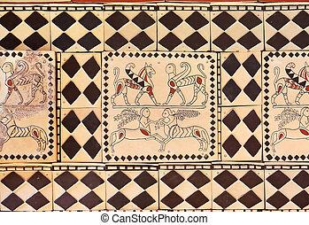 The ancient art in the Museum of Anatolian Civilizations - Ankara Turkey