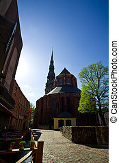The ancient cathedral tample - The ancient cathedral in the ...