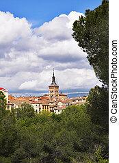 The ancient city of Segovia