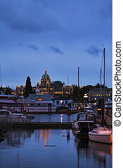 The ancient city Victoria
