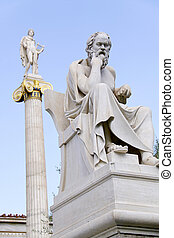 Socrates - The ancient greek philosopher Socrates