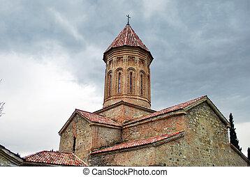 The ancient Ikalto monastery in Kakheti, Georgia