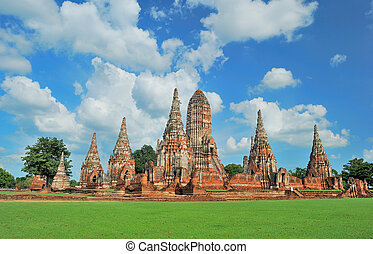 The Ancient Pagoda with Nice Sky