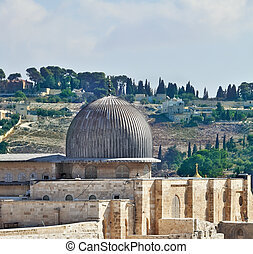 The dome of the Al Aqsa Mosque