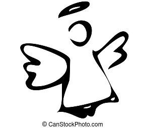 The angel The angel