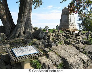 the angle at gettysburg was the high water mark of the...