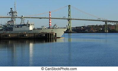 Angus MacDonald Bridge in Halifax, Nova Scotia - The Angus...