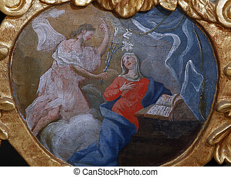 The Annunciation, Mysteries of the Rosary