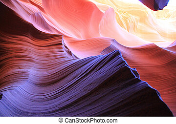 The Antelope Canyon, Page, Arizona