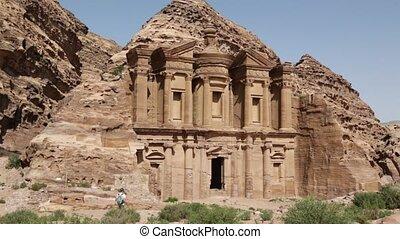 the antique site of petra in jordan
