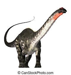Apatasaurus - The Apatasaurus dinosaur was a herbivore of...