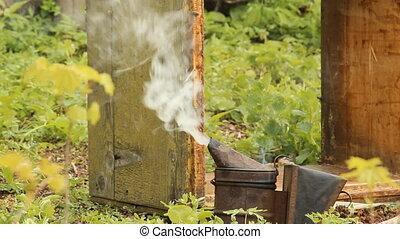 The apiary. smoker
