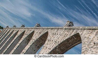 The Aqueduct Aguas Livres Portuguese: Aqueduto das Aguas...