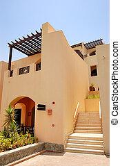 The Arabic style villa at luxury hotel, Dubai, UAE