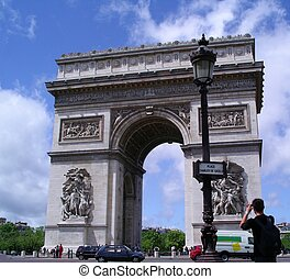The Arc De Triopmhe