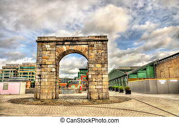 The Arch at George Dock in Dublin - Ireland